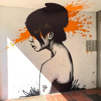 Streetart in Düsseldorf-Bilk