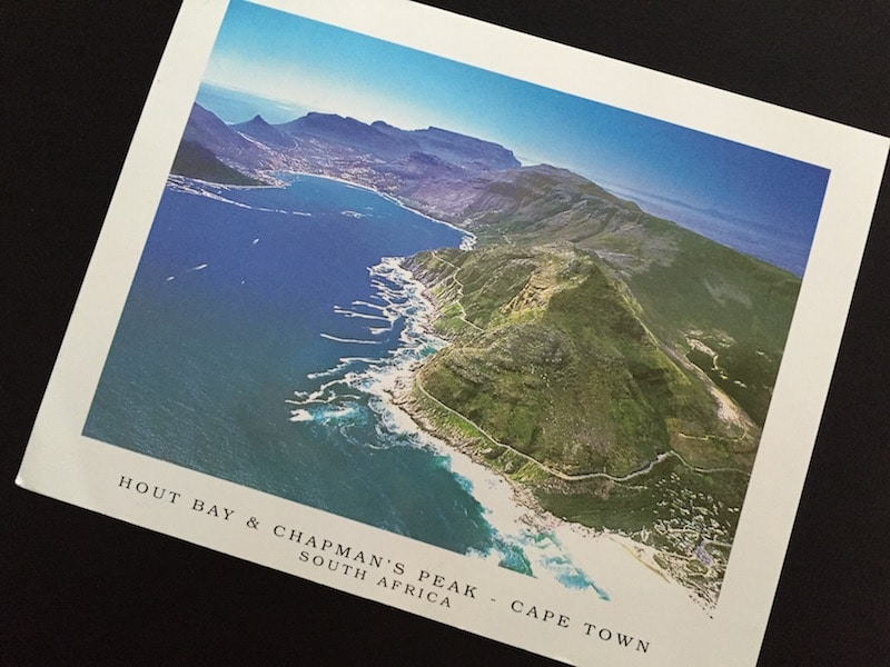 Postcard of the Week Hout Bay & Chapman's Peak, Kapstadt