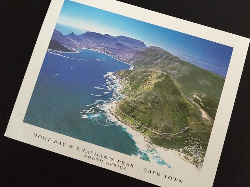 Postcard of the Week Hout Bay & Chapman's Peak, Kapstadt