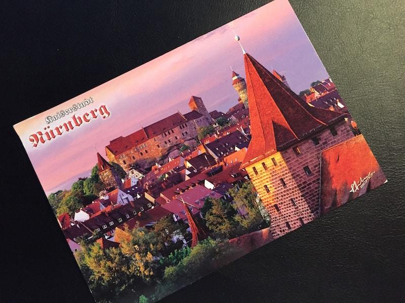 Blick auf die Kaiserburg, Nürnberg, pcotw
