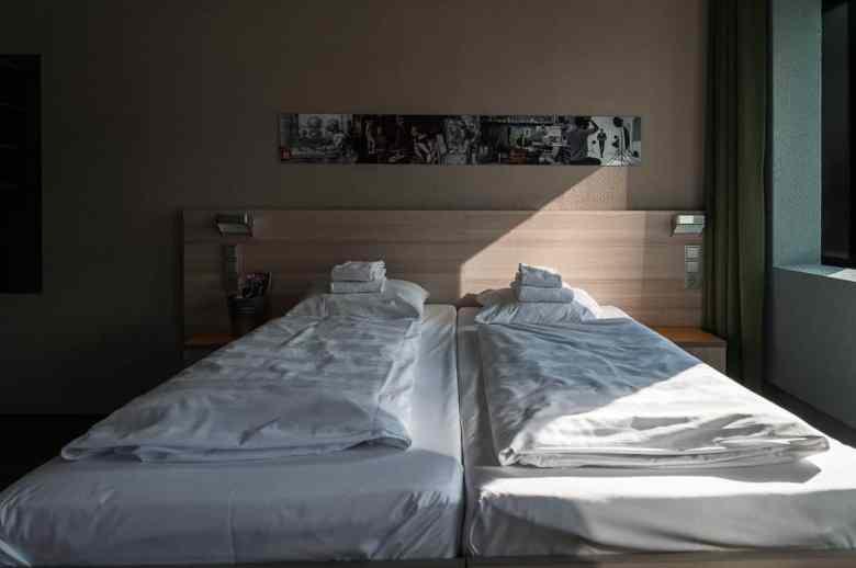 Hotelzimmer Meininger Hotel Amsterdam City West