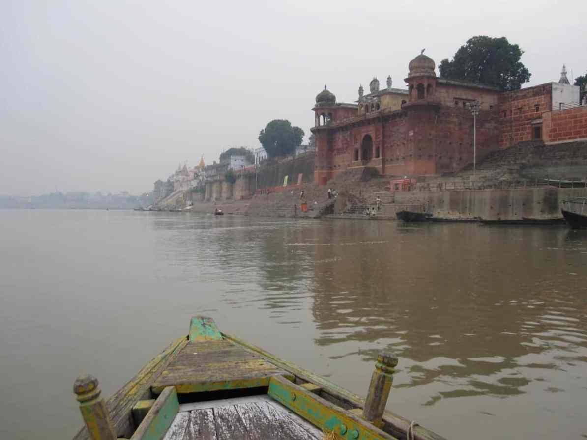 Bootsfahrt am Morgen - Ganges, Varanasi