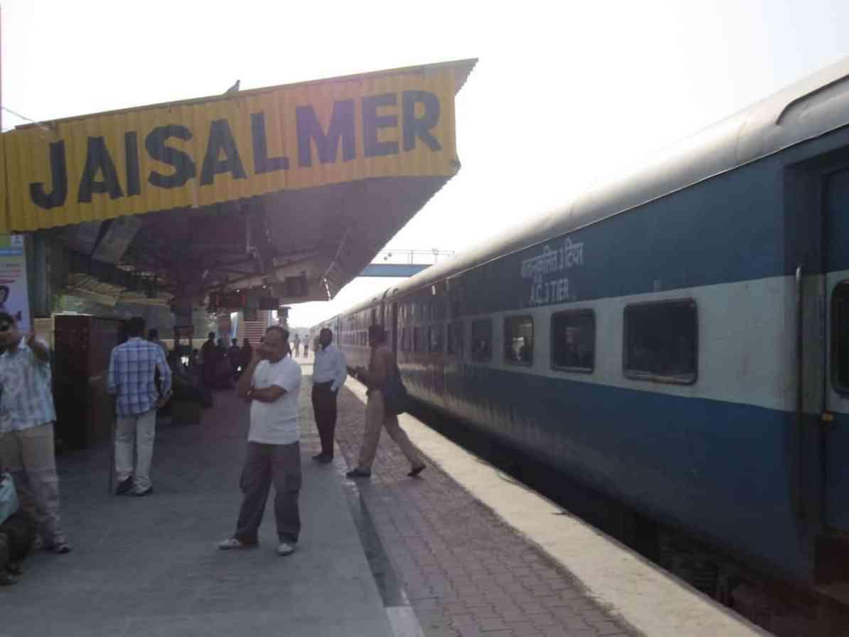 Zugstation Jaisalmer