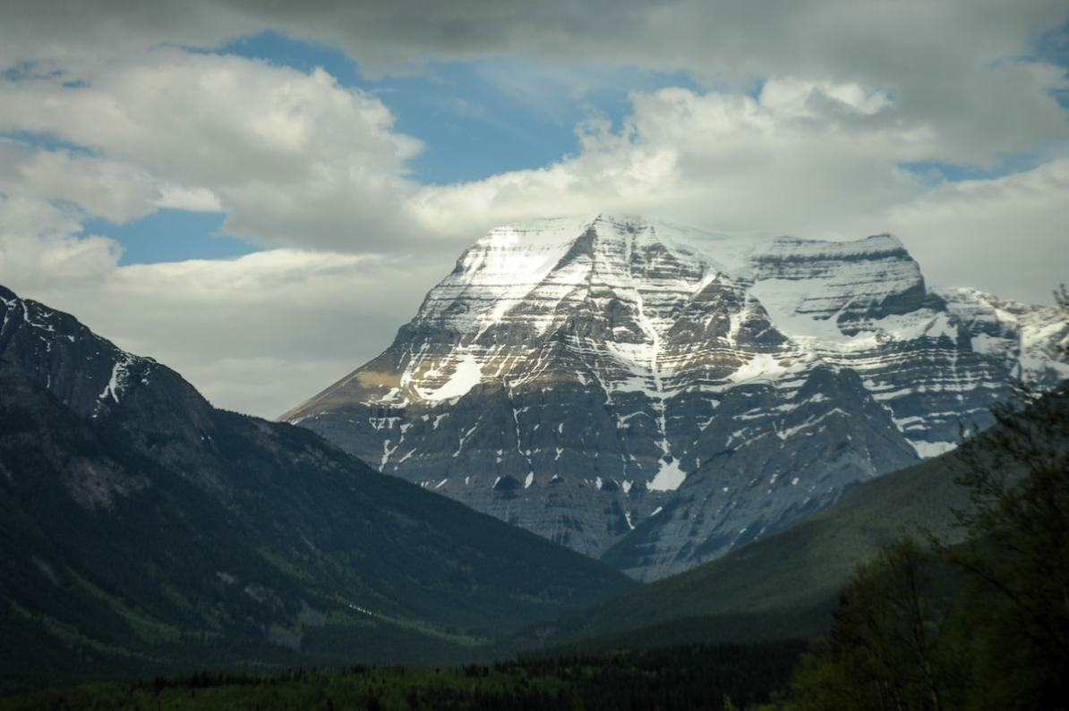 Mt. Robson - der höchste Berg der kanadischen Rocky Mountains