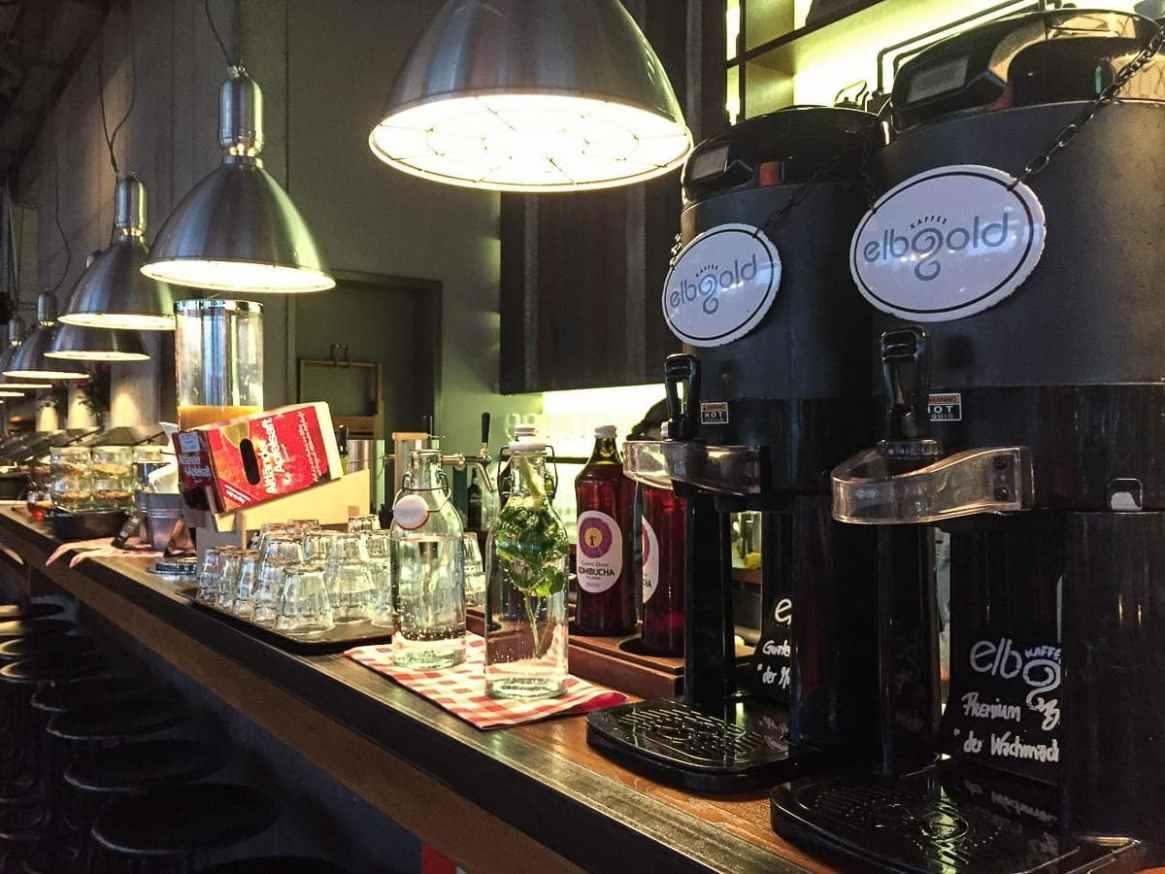 Guter Kaffee aus Hamburgs Elbgold Rösterei