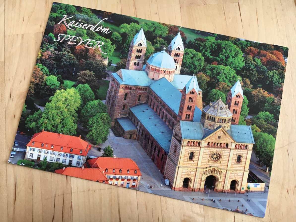 Postcard of the Week - Nordwestseite des Kaiser- und Mariendoms zu Speyer