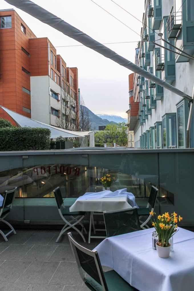 Dachterrasse Hotel Greif
