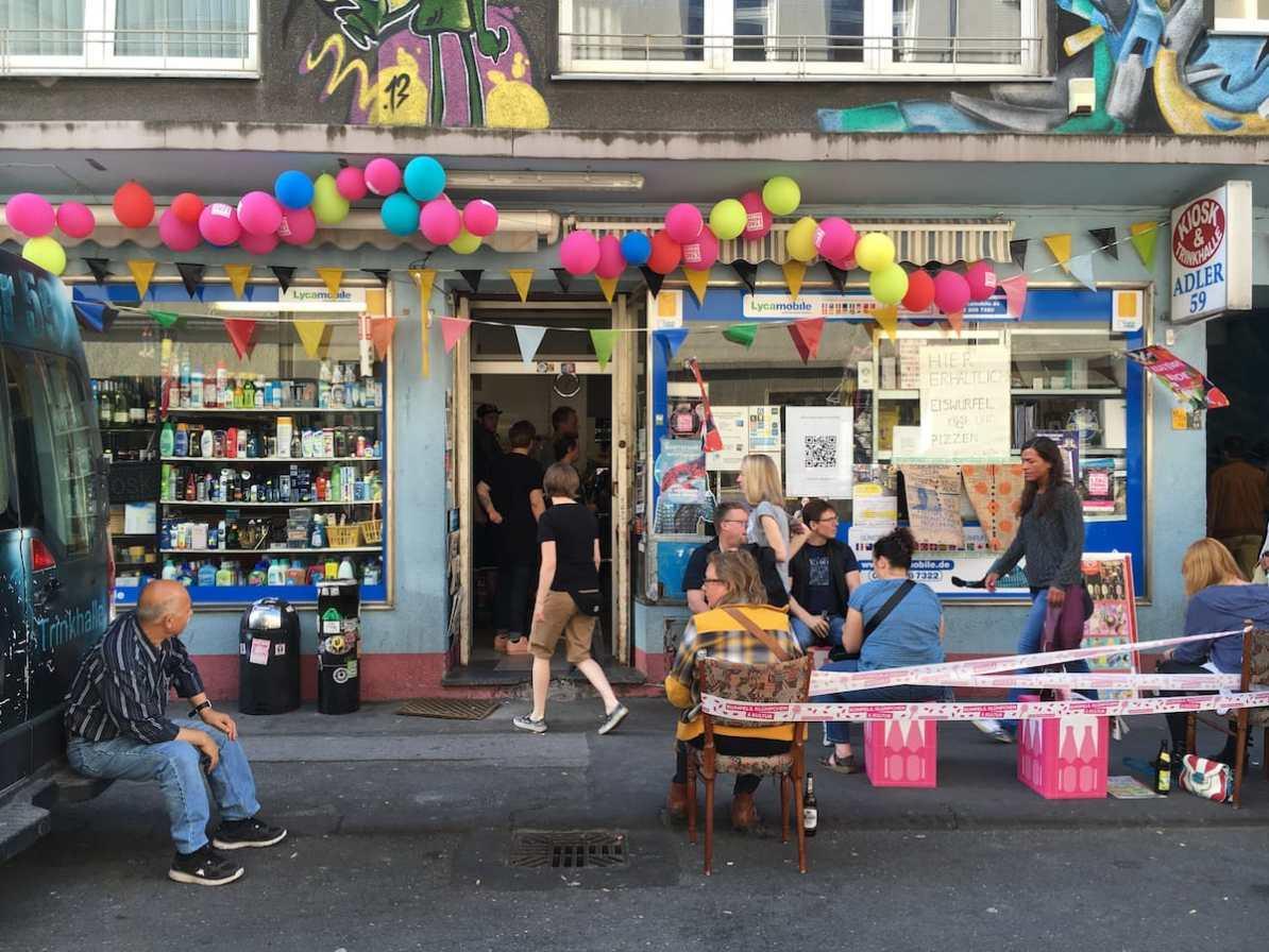 Kiosk in der Adlerstraße 59
