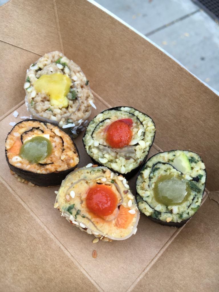 Asiatisch trifft Orientalisch - Couscous-Sushi