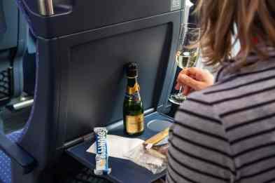 Essen im Zug
