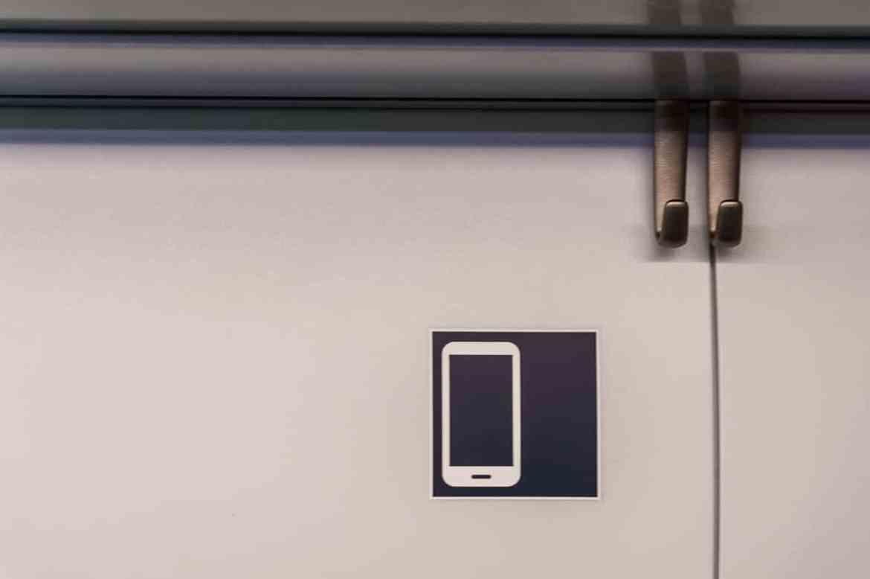 Handybereich im ICE4