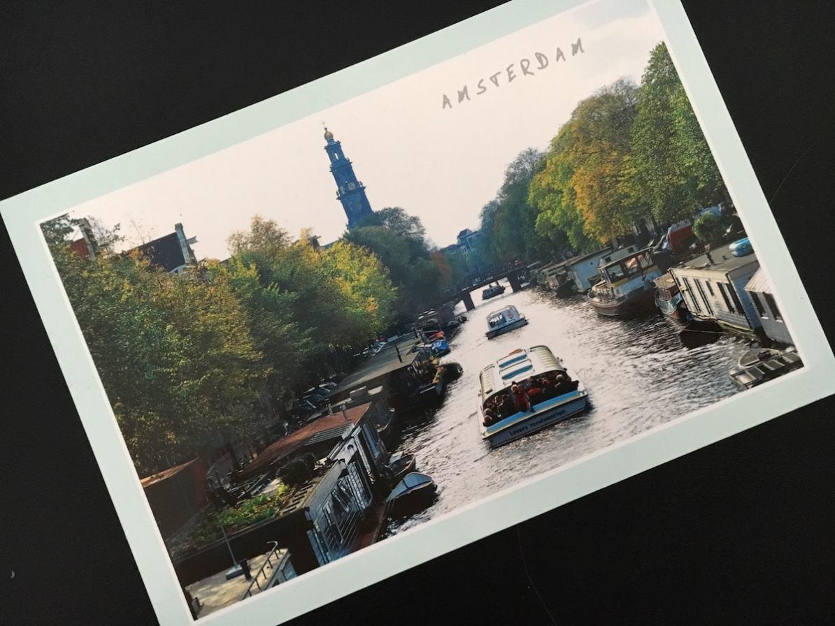 Postcard of the Week, Amsterdam