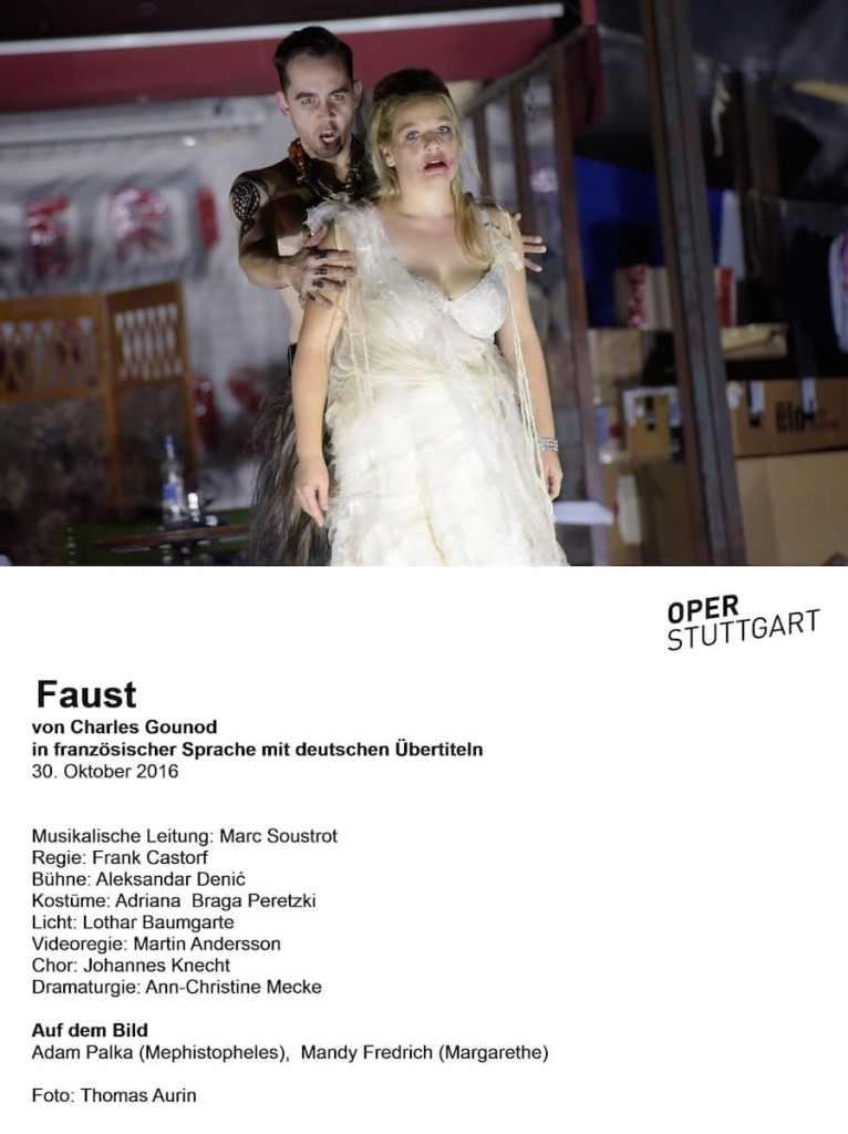 Faust (Oper Stuttgart) Foto: Thomas Aurin
