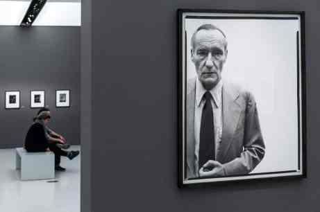William S. Burroughs, Richard Avedon (Foto: Simon Bierwald, Indeed Photography)