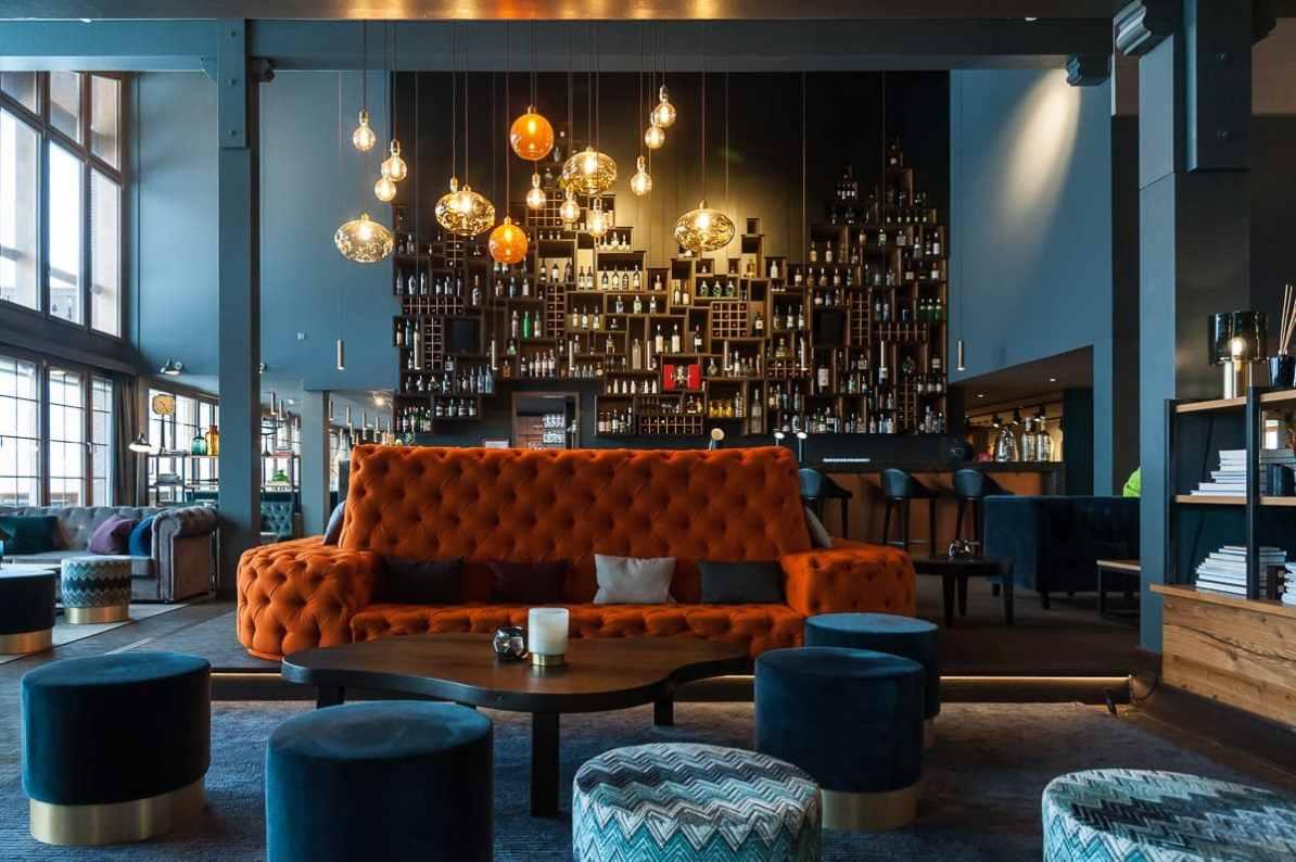 Bar & Lobby im HUUS Hotel