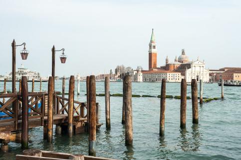 San Giorgio Maggiore in der Lagune von Venedig