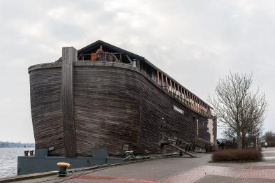 Arche Noah, ein Museumsschiff, das Stopp in Wilhelmshaven machte.