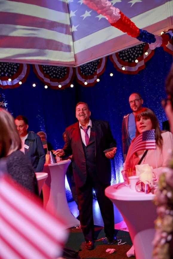 Wahlparty - Andreas Beck, Publikum Foto: © Birgit Hupfeld