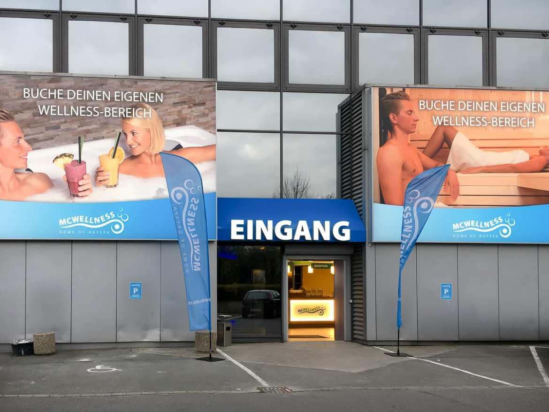 Eingang zu McWellness Dortmund II