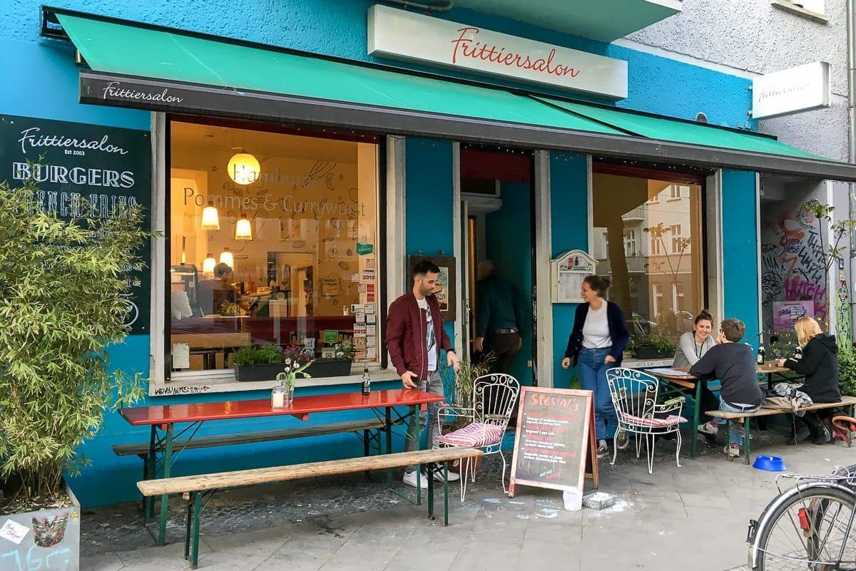 Frittiersalon, Boxhagener Str. in Friedrichshain