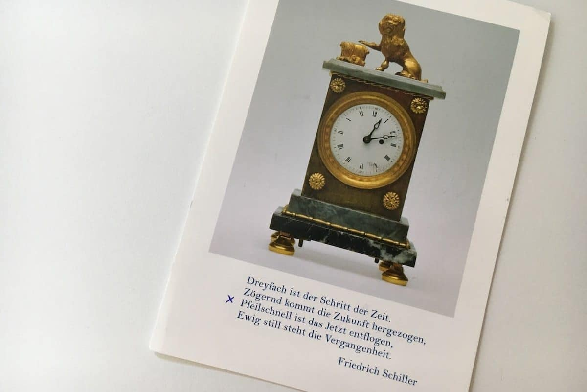 Postcard of the Week: Marbach, die Geburtsstadt Schillers