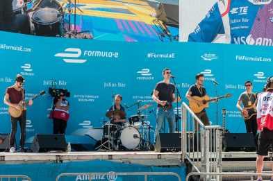 Livemusik auf der Hauptbühne