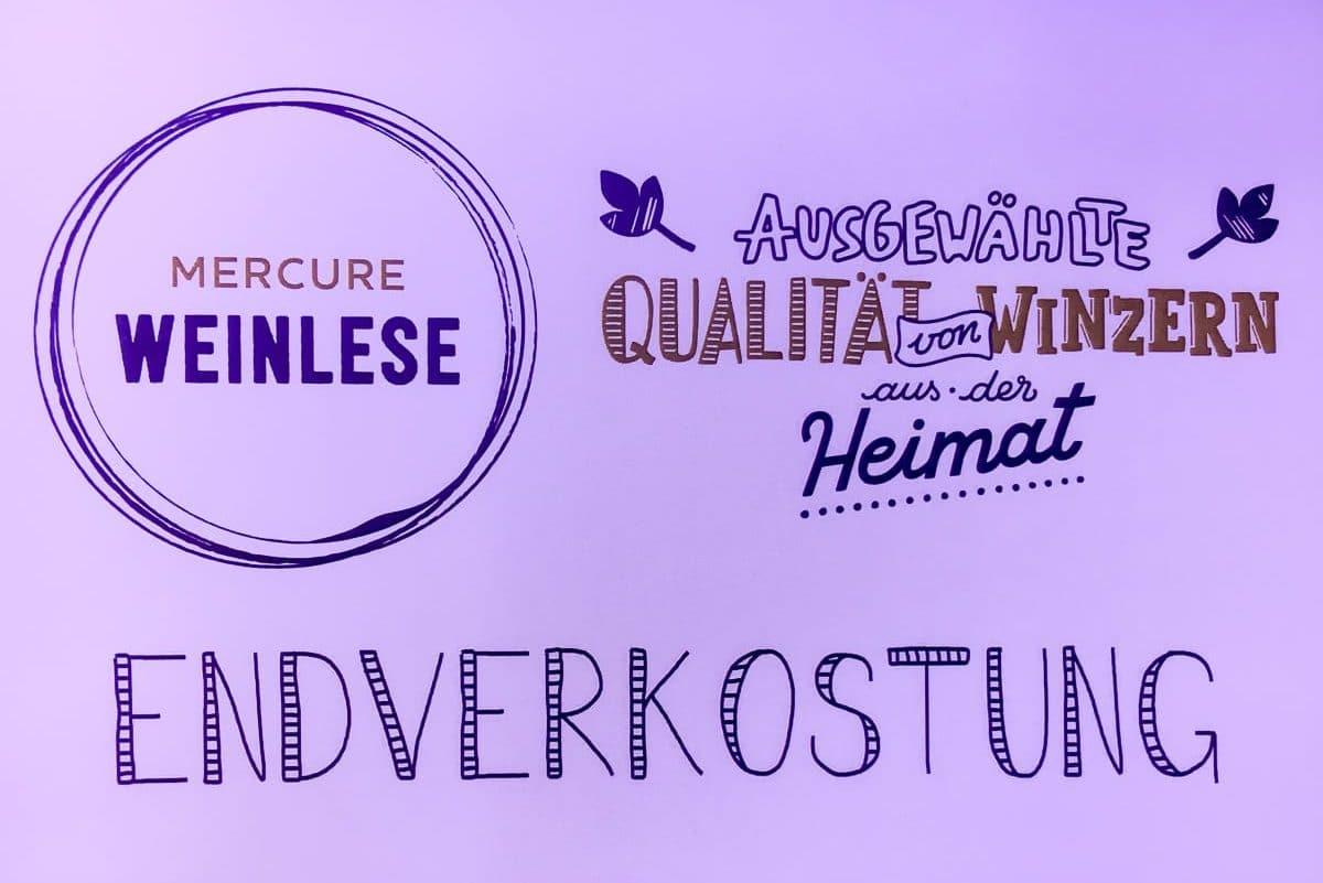 Mercure Weinlese Endverkostung 2017 in Dortmund