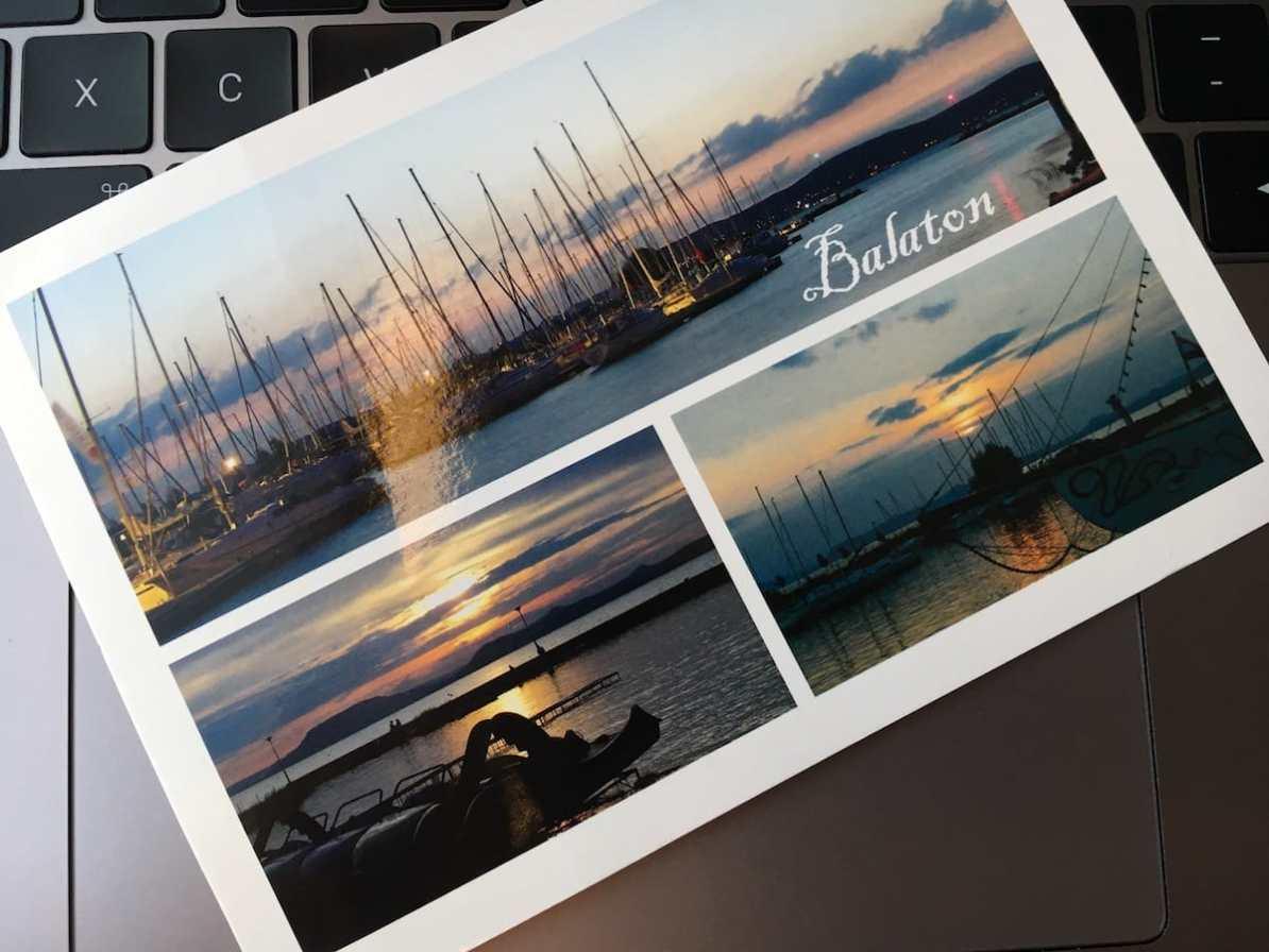 Postcard of the Week: Balaton, Ungarn