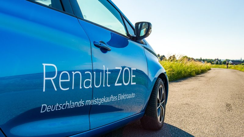 Renault ZOE - Test des Elektroautos im Alltag