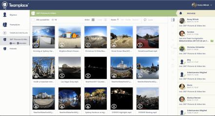 VR- und 360Grad-Teamplace von Teamplace