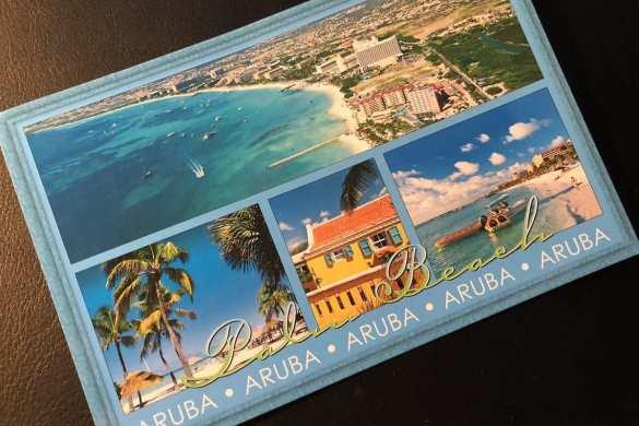 Postcard of the Week: Aruba