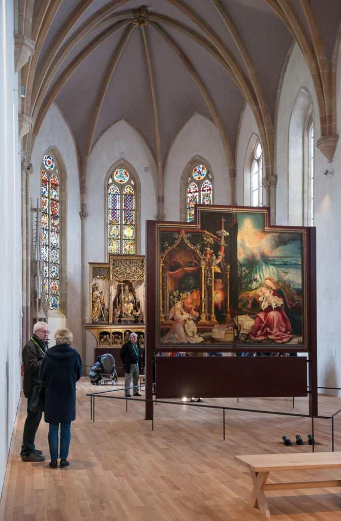 Zweites Wandelbild des Isenheimer Altars