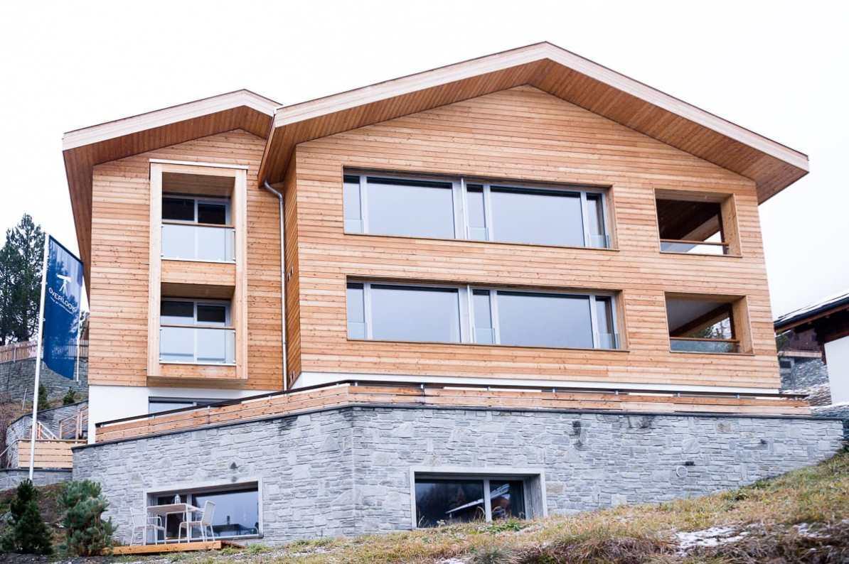 Die OVERLOOK Lodge by Cervo von außen