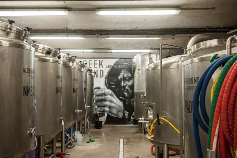 Braukeller Northern Monk Brewery