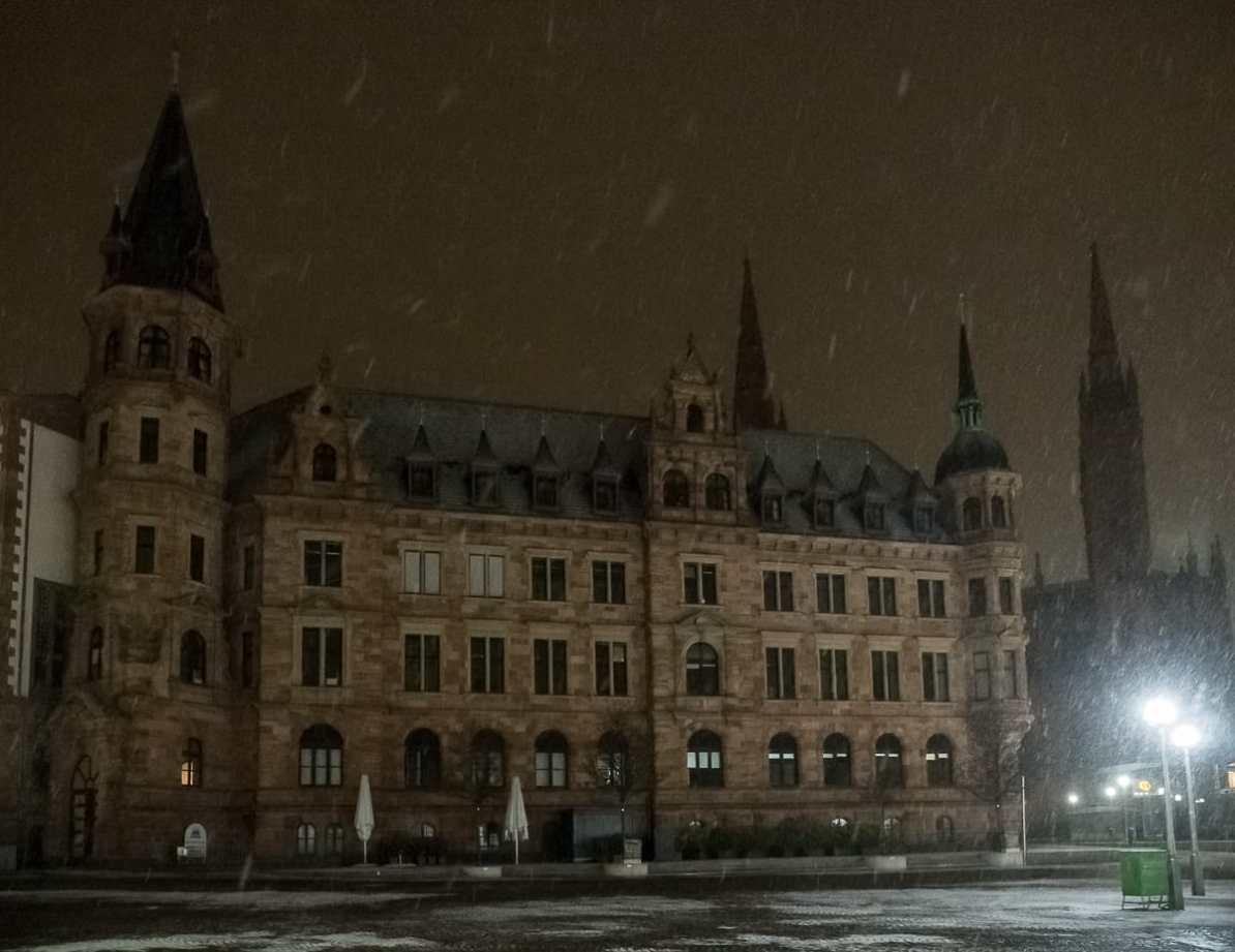 Südseite des Neuen Rathauses