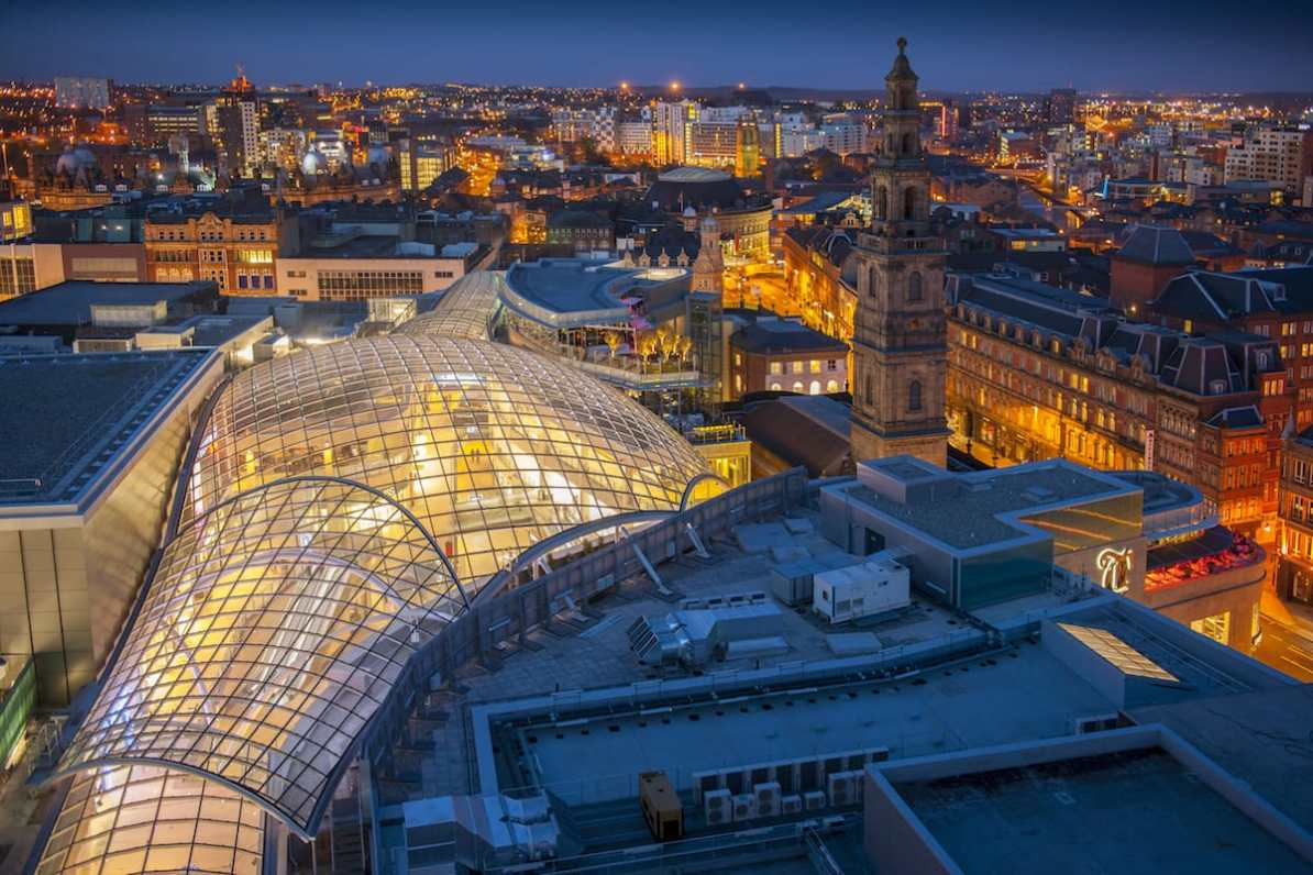 Trinity Leeds Shopping Mall - Foto: VisitBritain/VisitLeeds