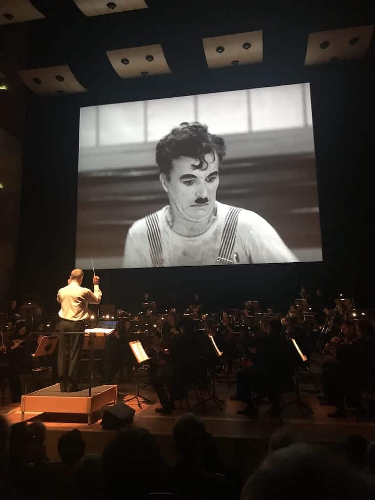 "Dortmunder Philharmoniker, Stummfilmkonzert ""Modern Times"" - Charlie Chaplin"