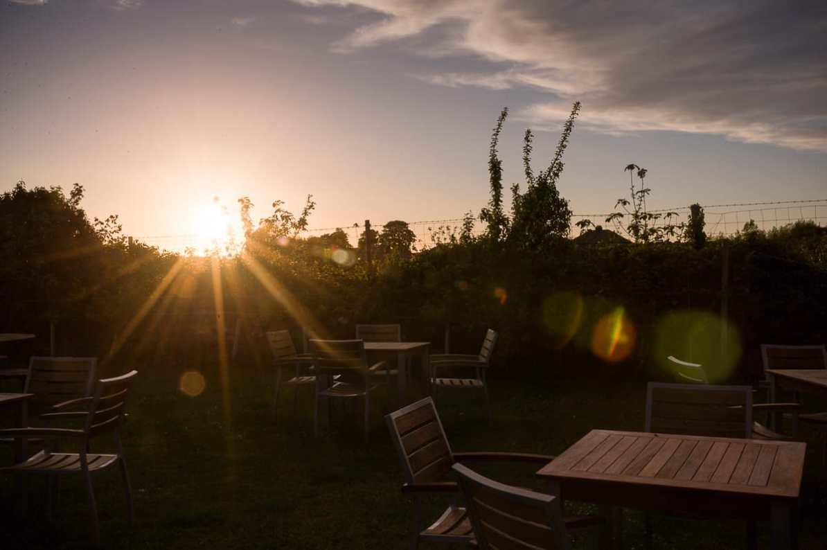 Sonnenuntergang in Wales