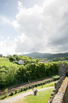 Blick von Conwy Castle