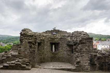 Conwy Castle ist ein beliebtes Tourismusziel