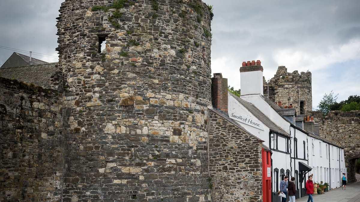 Das schmalste Haus in UK
