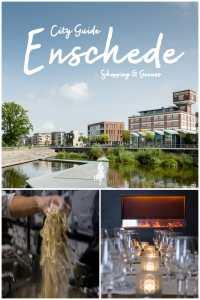 Enschede kulinarisch und fürs Shoppen entdecken