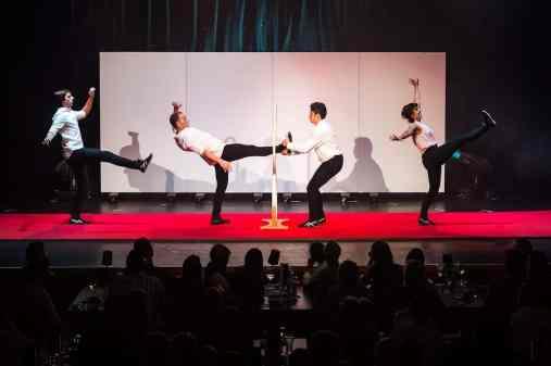 """""""Quatuor Stomp"""" mit lustigen Choreographien"""