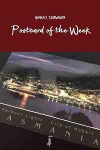 Postcard of the Week: Hobart, Tasmanien