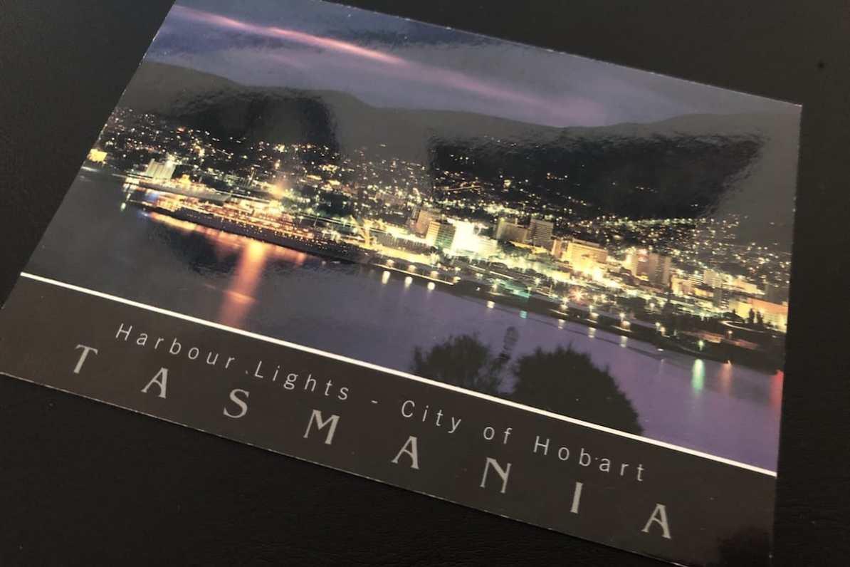 Postcard of the Week: Hobart, Tasmanien