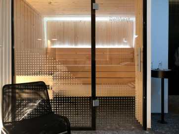 Sauna - anfangs wählst Du den Typ aus: Bio oder Finnische Sauna