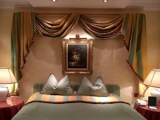 mein Hotelbett