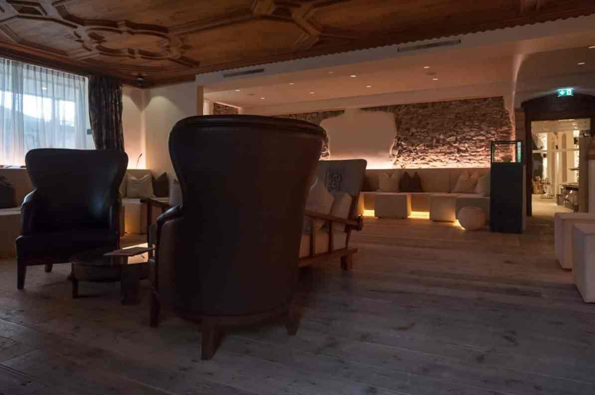 Ruhe- und Leseraum im Hotel Klosterbräu