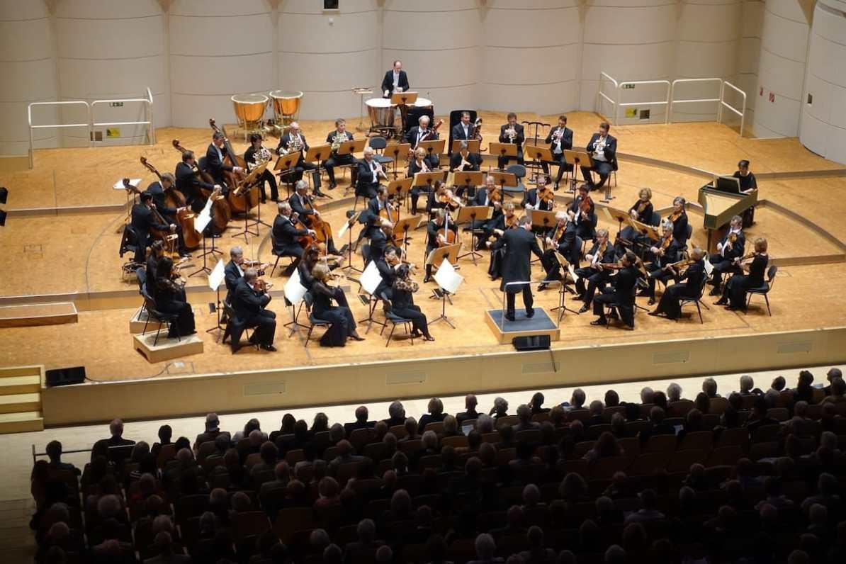 """Feuerwerksmusik, Händel 1. Philharmonisches Konzert 2018/19 """"Zeitenwende"""" Foto: A. Schürer, Dortmunder Philharmoniker"""