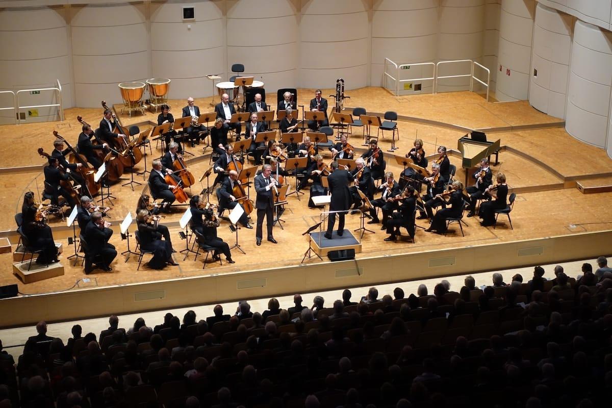 """Oboenkonzert, Strauss 1. Philharmonisches Konzert 2018/19 """"Zeitenwende"""" Foto: A. Schürer, Dortmunder Philharmoniker"""